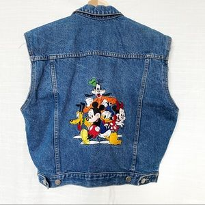 Disney Blue Denim Vest